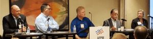 AFPM technology summit panelists, oil and gas, cybersecurity